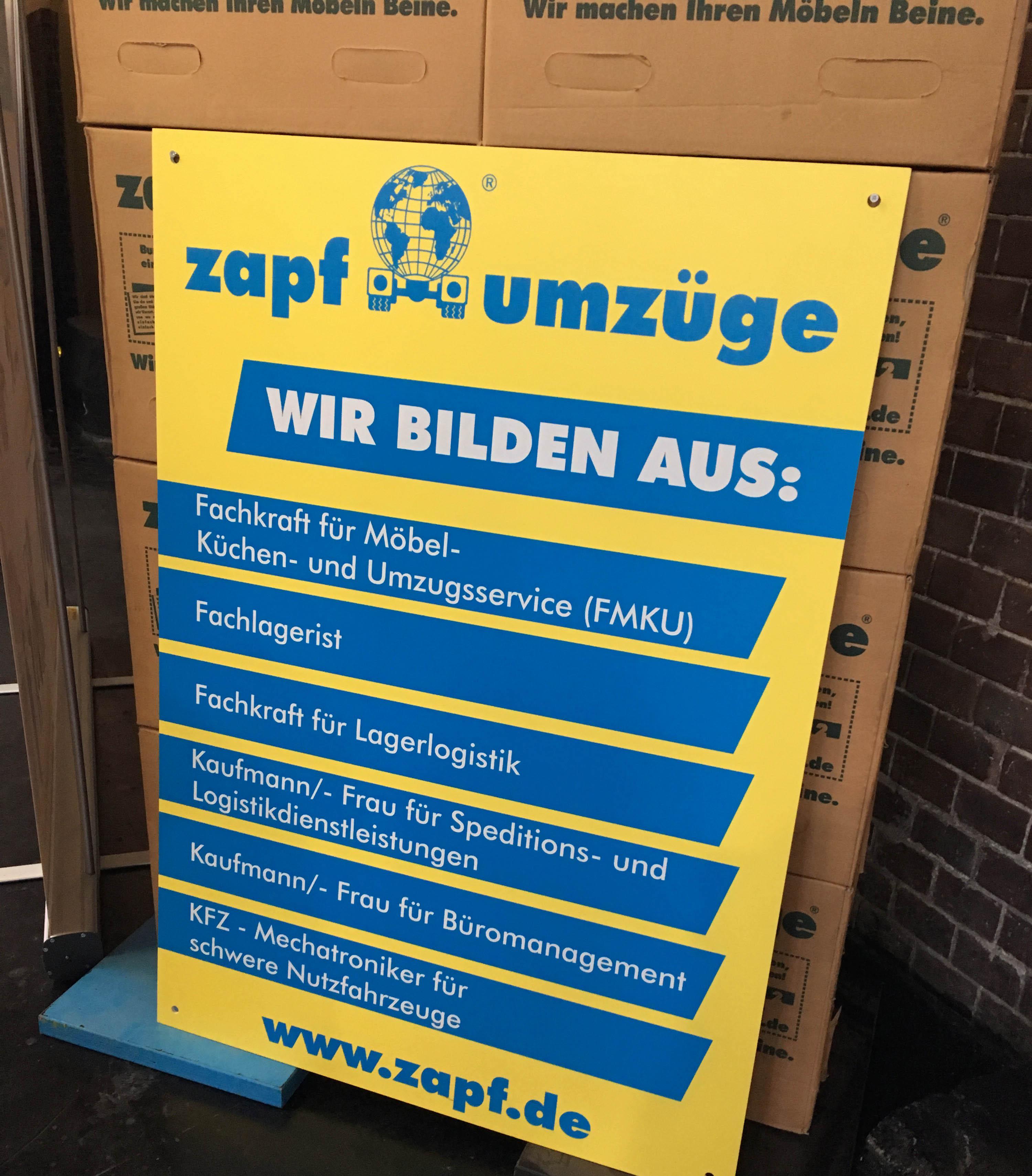 Ausbildung Zapf Umzuge Umzug Deutschlandweit Von Berlin Bis