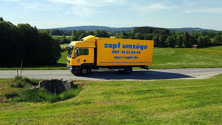 München - zapf umzüge, Umzug deutschlandweit von Berlin